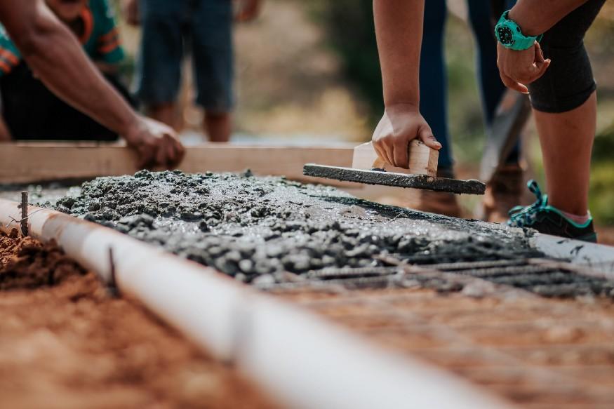 Concrete Estimation construction site